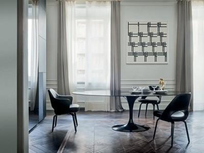 Black Saarinen Tulip Table - Novità KNOLL 2017